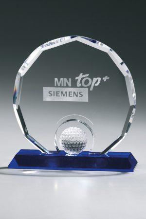 Golfpokale und Glaspokale mit Gravur online kaufen - Polygon Award