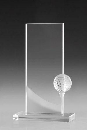 Golfpokale und Glaspokale mit Gravur online kaufen Bent Award