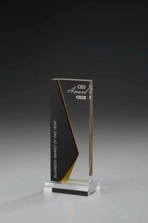 Golfpokal aus Acrylglas mit Gravur Elegand