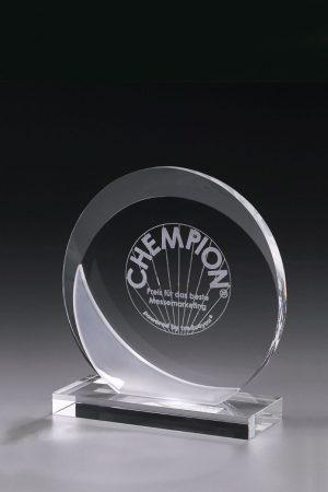 Glaspokal mit Gravur online kaufen Eclipse Award