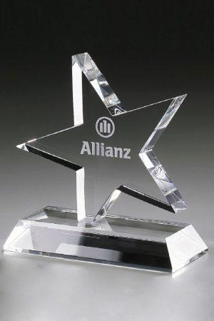 Glaspokal mit Gravur online kaufen Truculentus Award